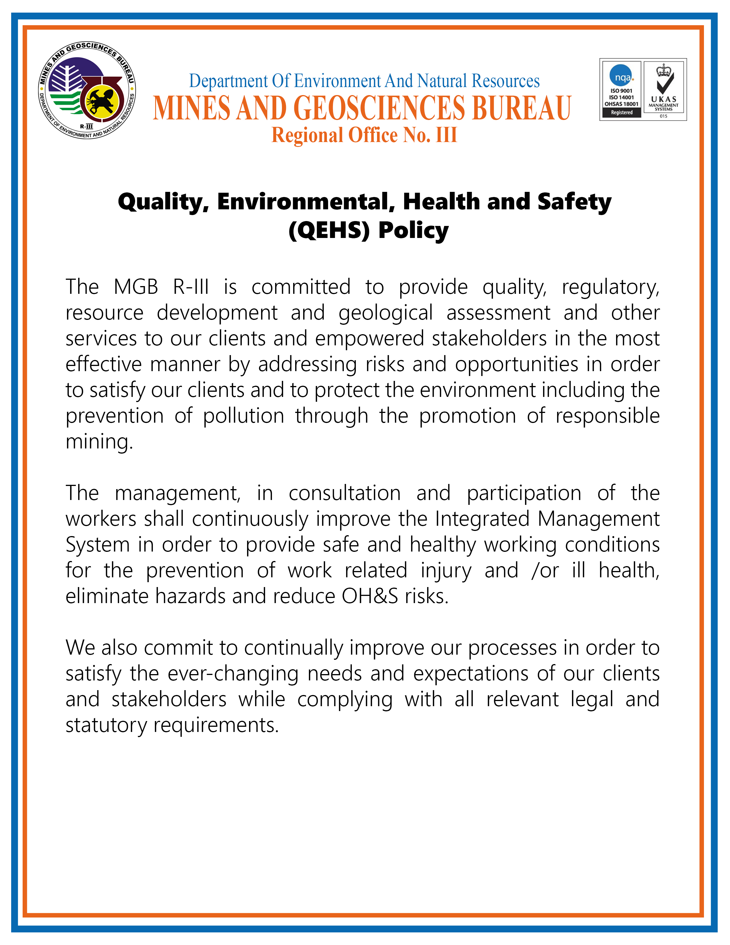 QEHS Policy 2021